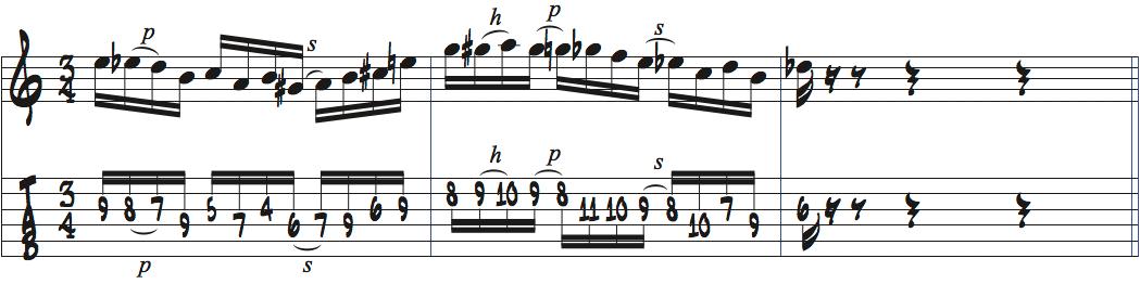パットメセニーリック1楽譜