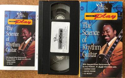 ポール・ジャクソン・ジュニアの「The Science Of Rhythm Guitar」ビデオ