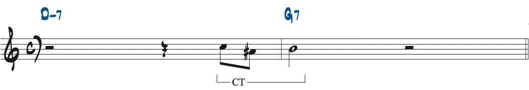 60ページのG7のターゲットノート楽譜