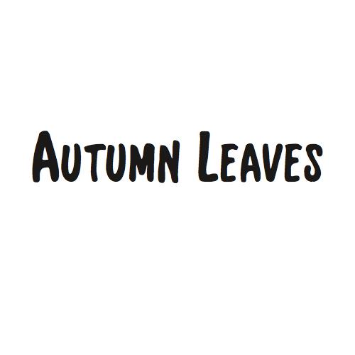 枯葉(Autumn Leaves)のコード進行分析とアドリブ例
