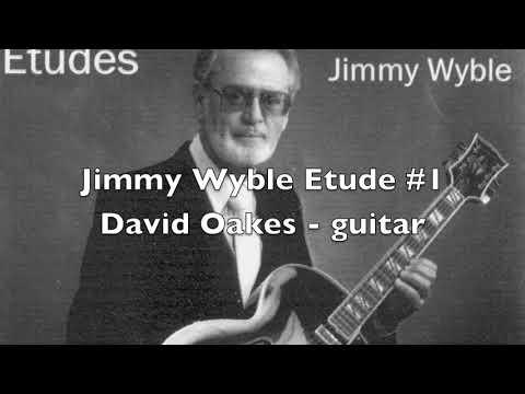Jimmy Wyble Etude1タブ譜付きギタースコア