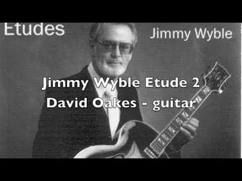 Jimmy Wyble Etude2タブ譜付きギタースコア